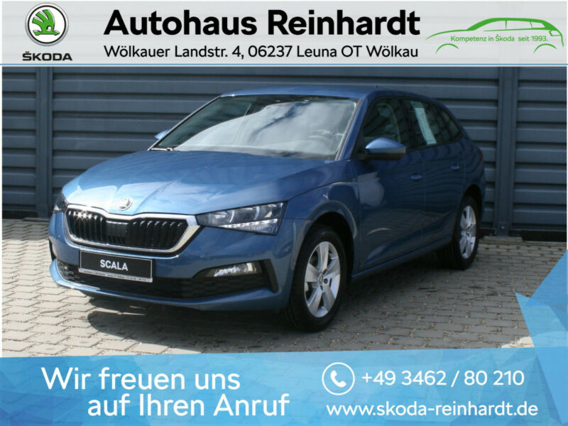 Skoda Scala Cool Plus 1.0 TSI,beheiz. Vordersitze,DAB+