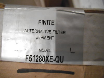 Finite F51280xe-qu Air Supply Filter Element Replacement - New 102-1226