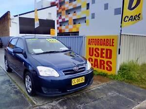 2007 Toyota Corolla Hatchback 1 Year warranty Woy Woy Gosford Area Preview