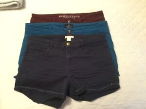 American Eagle; H&M shorts, $10 each or all 3 for $20