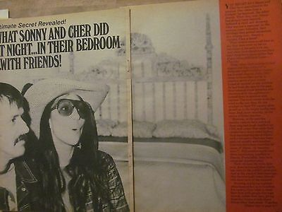 Cher, Four Page Vintage Clipping