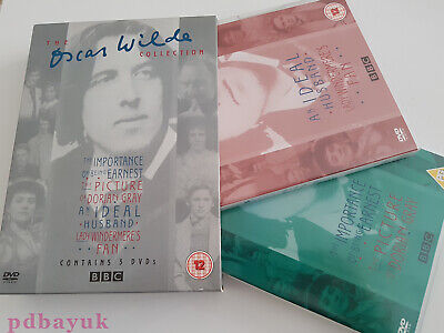 The Oscar Wilde Collection (2005) 3 Disk Set (DVD, 2005, R2, 12) ~4231