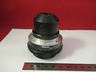 Nikon Japan Lwd 0.65 Condenser Iris Microscope Part Optics As Pic 10-b-15