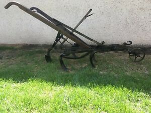 ANTIQUE HORSE DRAWN CULTIVATOR