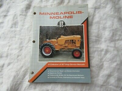 Minneapolis Moline G 1000 1350 950 706 R Gtb U Za M5 Tractor Service Shop Manual