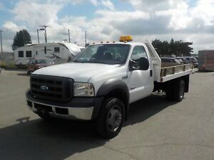 2005 Ford F-450 SD Regular Cab 12 Foot Flat Deck Dually Diesel 2