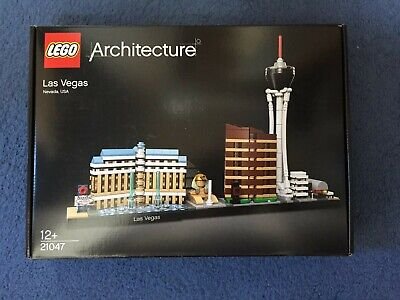 Lego Architecture Las Vegas (21047) --- brand new and sealed