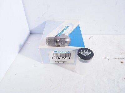 Monarch Oil Burner Nozzle 1.10 X 70 R Solid Cone New Nos Fuel Furnace