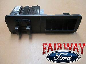 11 thru 16 F-250 F-350 OEM Ford In-Dash Trailer Brake Controller W/Storage Kit