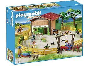 PLAYMOBIL 5960 Grosser Ponyhof passend zu Reiterhof Pferdestall Gestüt NEU & OVP