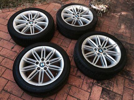 "BMW M-Sport wheels 17"""