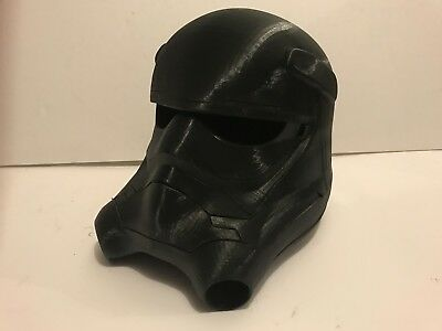 FIRST ORDER TIE FIGHTER HELMET STAR WARS ROGUE ONE LAST JEDI ARMOR SUIT