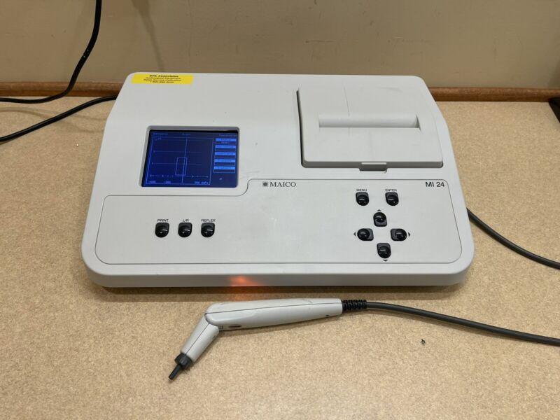 Maico MI24 Tympanometer (IPSI) w/ NEW Calibration Cert.