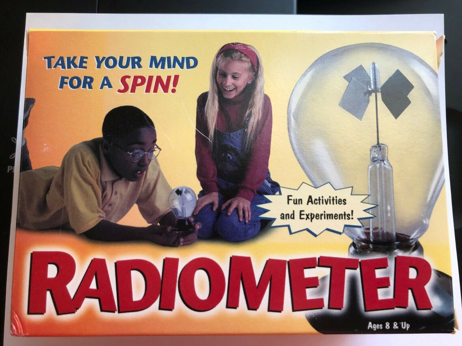Excellent Fun For Kids Educational Solar Powered Radiometer - $4.80