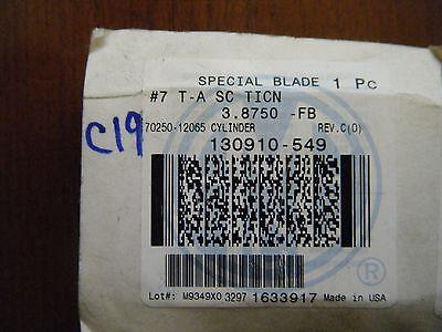 Amec Spade Drill Insert 130910-549  3.8750