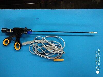 Laparoscopic Bipolar Da Robi Forceps Surgical Laparoscopy Instrument Cable 5mm