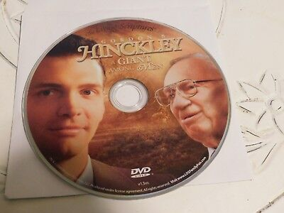 Gordon B. Hinckley: A Giant Among Men (DVD, 2008)Disc Only