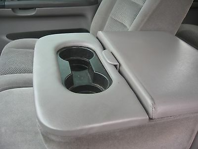 ford super duty f-150&250 center seat cup holder trim  repair pad 1999-2010