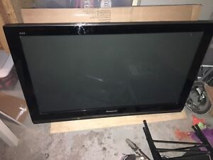 Used Panasonic 46in HD plasma TV 1080p Great Condition!