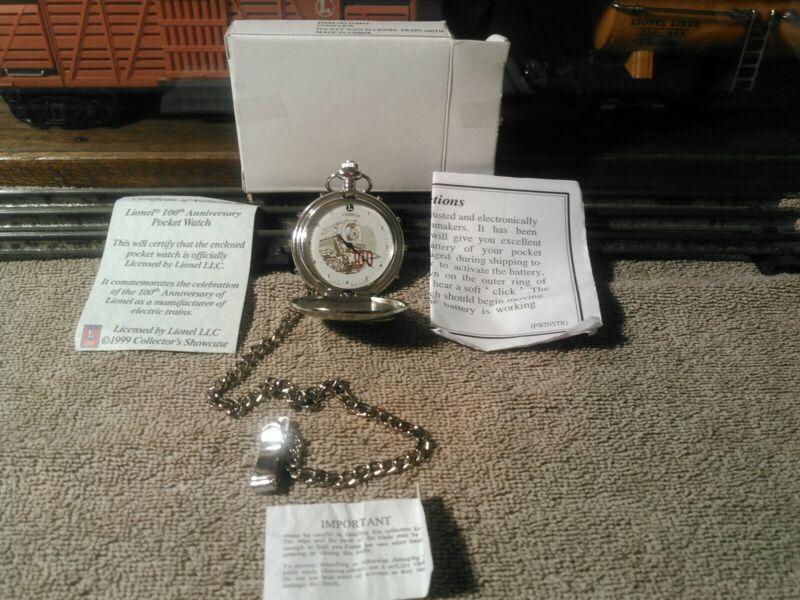 Lionel 100 Th Anniversary of Pocket Watch