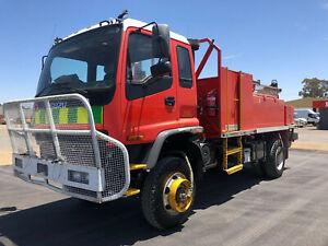 Isuzu FTS750 FIRE FIGHTING UNIT Service Body Waterloo Corner Playford Area Preview