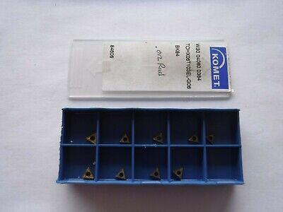 Komet W30 14060.0384 Bk80 Carbide Inserts Box Of 9