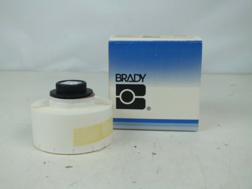 New Brady PTL-84-499 Portable Thermal Labels, Nylon Cloth Wire, 500 / Roll