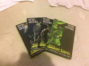 Swamp thing graphic novels