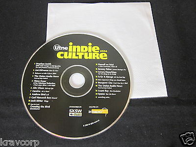 SPOON/ANI DIFRANCO/JOSH RITTER 'INDIE CULTURE' 2003 PROMO CD