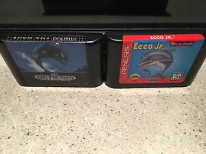 Ecco and Ecco Jr. Sega genesis
