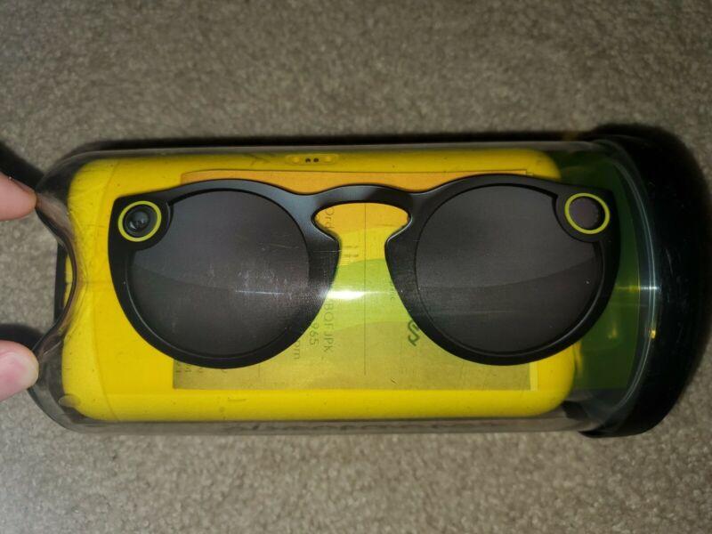 Snapchat Spectacles Original Black (Snapbot) (Read Description)