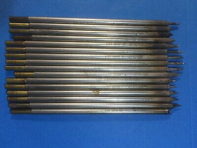 Lot Of 16 Metcal Sttc Series Soldering Cartridge Tips