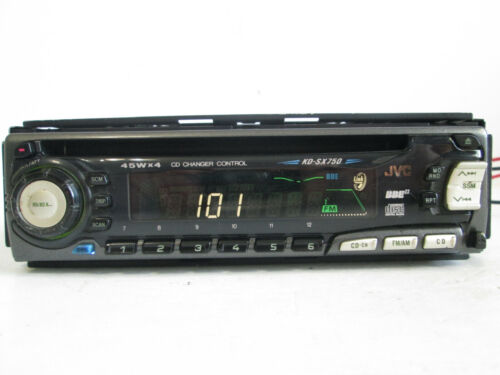 JVC KD-SX750 Replacement Radio *Faceplate Only*- Tested Good Guaranteed
