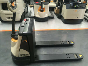 Crown WP 2300 WP Series Pallet Jack Wingfield Port Adelaide Area Preview