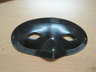 Kinder Maske schwarz Zorro, Gangster, Bandit Karneval, Fastnacht Fasching