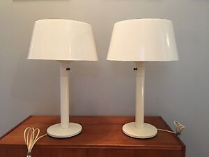 mid-century modern Gerald Thurston table lamps