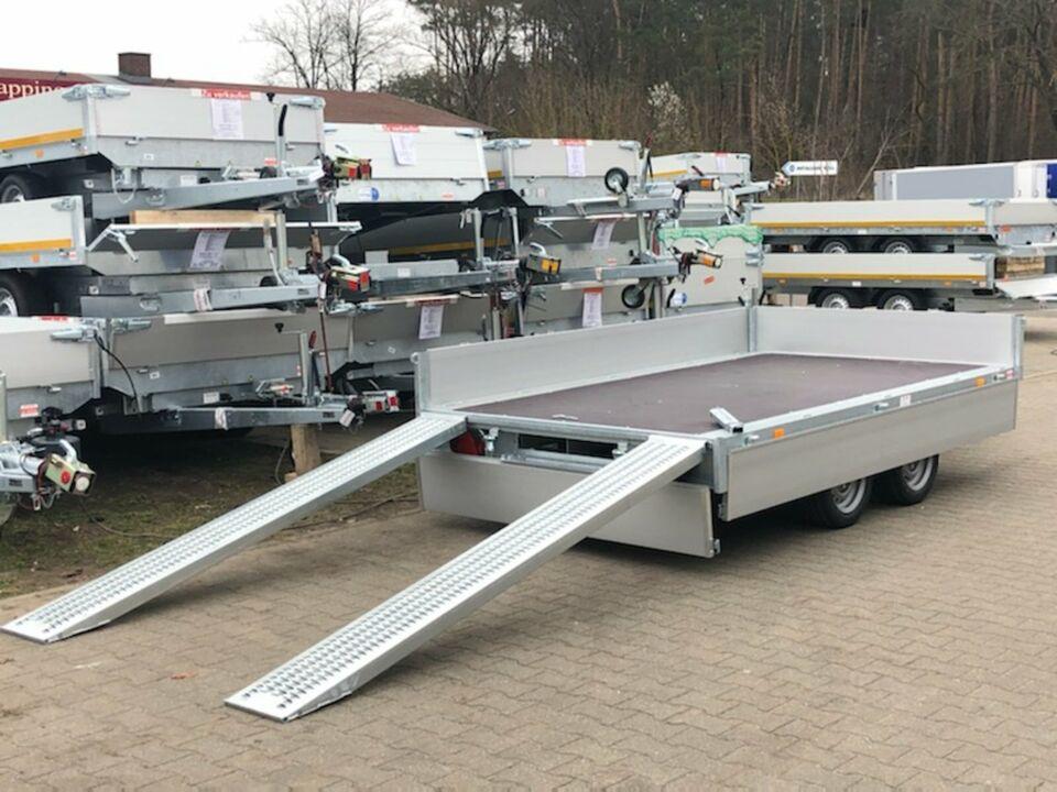 ⭐ Eduard Auto Transporter 2700 kg 356x180x30 cm Rampen Winde 63 in Schöneiche bei Berlin