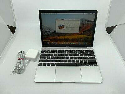 "Apple MacBook A1534 12"" Laptop - MF855LL/A (2015, Silver)"