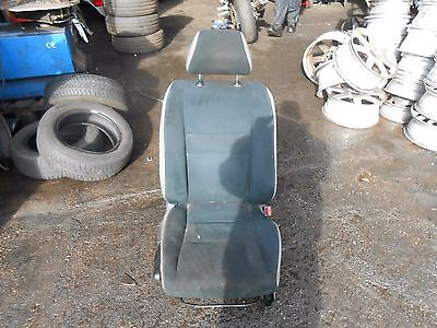 HONDA CIVIC MK8 2007 5 DOOR OSF DRIVER SIDE FRONT SUEDE SEAT MANUAL ADJUST
