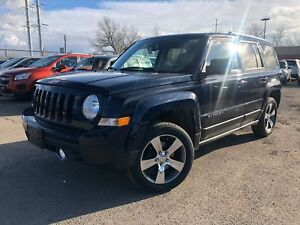 2016 Jeep Patriot High Altitude Nav Leather AWD Alloys