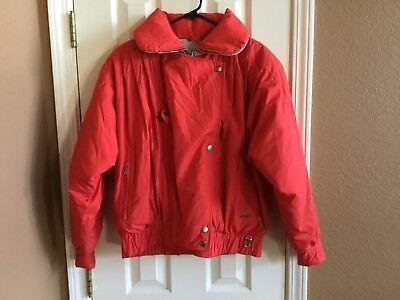 Vintage Bogner Red Goose Down Puffer Winter Ski Jacket Coat Women's - Bogner Winter Coat
