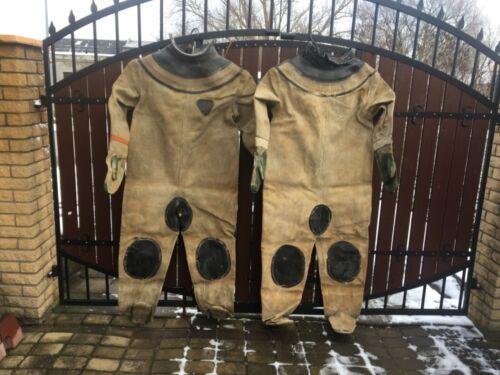 Soviet Russian diving suit for 3-bolt diving helmet, USED.