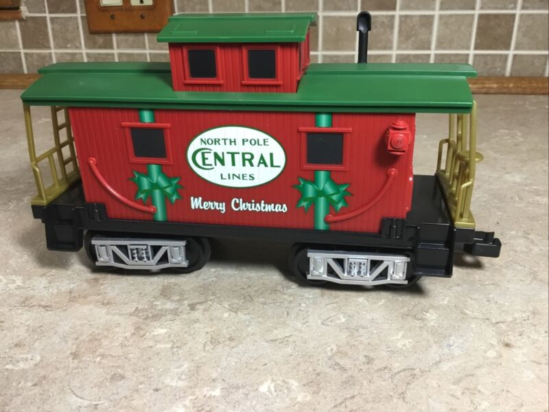 Lionel NORTH POLE CENTRAL  Caboose Train Replacement Add On 7-11729