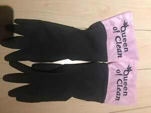 Queen of Clean gloves (NEVER USED)