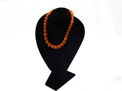 1930s Art Deco Style Jewelry ART DECO, 1930's BALTIC AMBER BEADS NECKLACE $140.00 AT vintagedancer.com