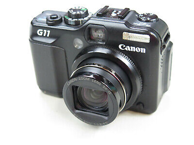Canon G11 PowerShot Digital Camera, LeatherCase, 10Mp, Excellent Cond.
