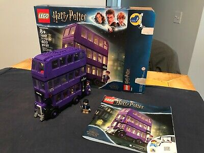 LEGO Harry Potter 75957 The Knight Bus COMPLETE w box, book