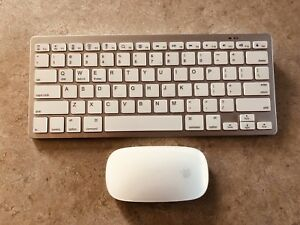 Apple Magic Mouse & keyboard