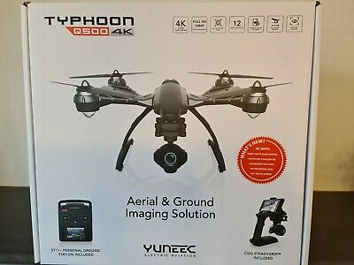Yuneec Typhoon Q500 4K Quadrocopter Steadygrip,Komplett Set CGO3 Kamera