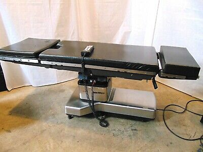 Amsco Quantum 3080sp Operating Table With Hand Control Cushions S4969